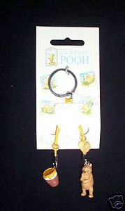 Winnie The Pooh And Honey Classic 2 Mobile phone  Charms / keyring.. ..Winnie the Pooh..